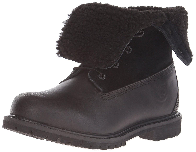 Timberland Women's Teddy Fleece Fold Down Waterproof Boot