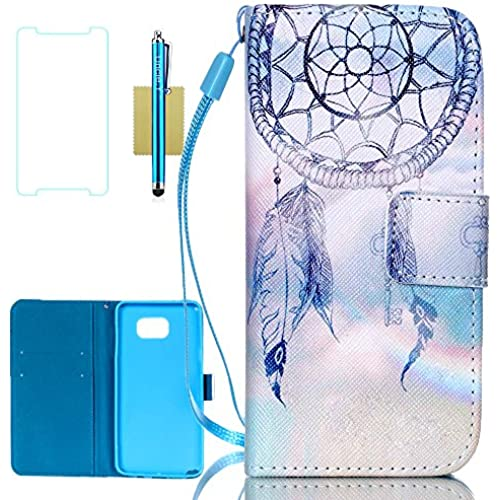 Galaxy S7 Case,S7 Case,Galaxy S7 Wallet Case,Uncle.Y Pu Leather Flip Case Stand Folio Cover Case for Samsung Galaxy S7 (Dreamcatcher) Sales