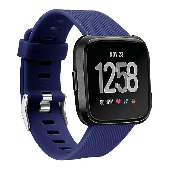 para Bandas Versa Fitbit Sudan Correas SmartWatch ...