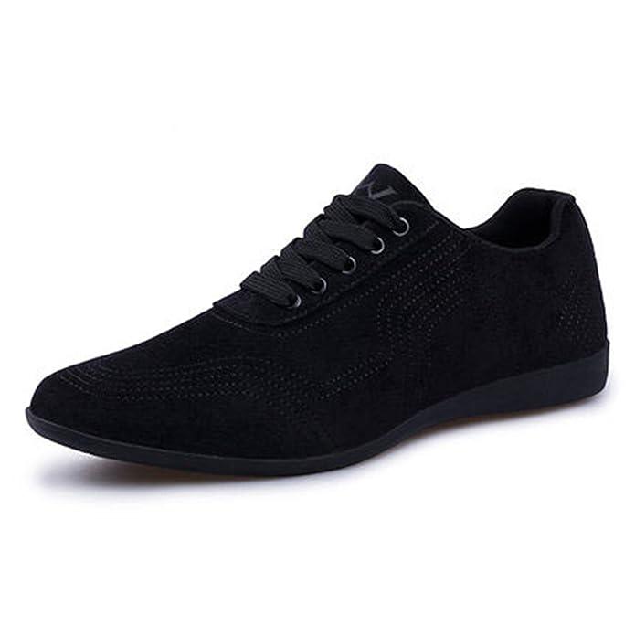 Amazon.com   Mandaartins Men Low Canvas Shoes Dress Shoes Sneakers   Fashion Sneakers