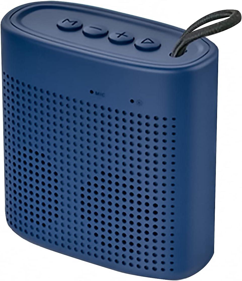 GANSS Mini Speaker,Portable Wireless Bluetooth Speaker Superb,Mini Stereo Speaker Outdoor Indoor with USB Disk Micro SD Card Slot, Built-in Mic,Enhanced Bass, Works (Blue)
