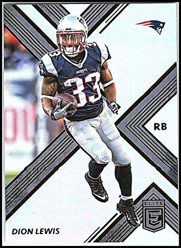 2017 Donruss Elite  65 Dion Lewis New England Patriots Football Card
