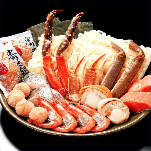 海鮮寄せ鍋セット 【北海道海鮮鍋セット】