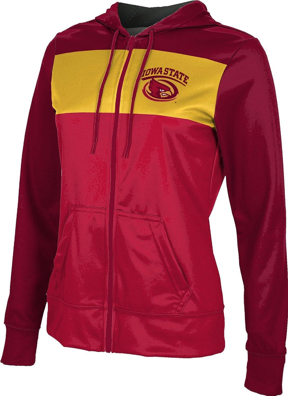 ProSphere Iowa State University Girls Zipper Hoodie Gameday School Spirit Sweatshirt