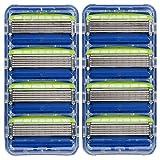 Health & Personal Care : Schick Hydro 5 Sensitive Razor Blade Refills for Men, 8 Count