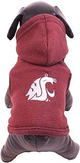 product image for NCAA Washington State Cougars Polar Fleece Hooded Dog Jacket