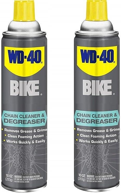 WD-40 - Limpiador y desengrasante para Bicicleta, 295 ML, Bike ...