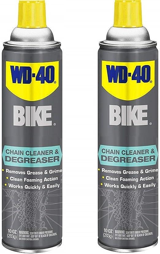 WD-40 - Limpiador y desengrasante para Bicicleta, 295 ML, Bike Cleaner and Degreaser, 10 oz 1 Pack: Amazon.es: Deportes y aire libre