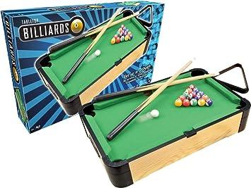 Ambassador - Mesa de Billar (Madera, 50,8 cm): Amazon.es: Juguetes y juegos