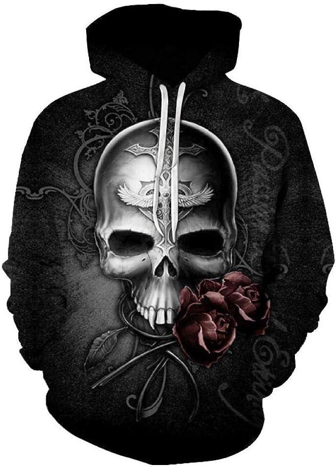 Acheter pull homme tete de mort online 13