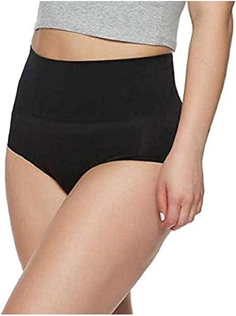 Gloria Vanderbilt Ladies Seamless Shaping Brief Medium Control Black 2 Pack