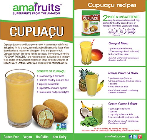 Amafruits Cupuacu Pure & Unsweetened by Amafruits (Image #5)'
