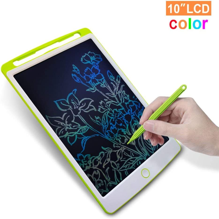 Lzour LCD Writing Tablet,10 Inch Digital Electronic Graphics Tablet Ewriter Mini Board Handwriting Pad Suitable for Kids