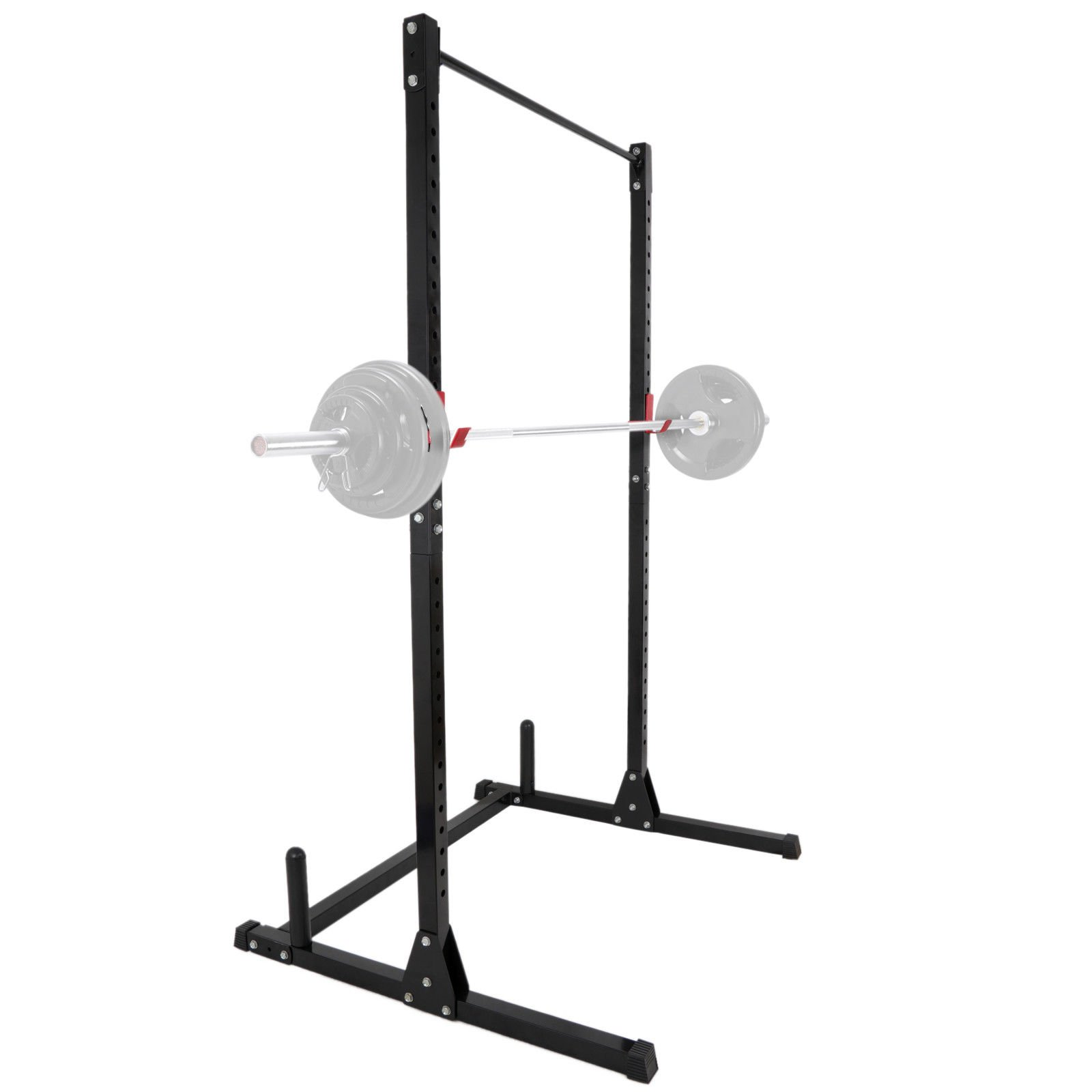 nitipezzo Strength and Stability Multi-Function Weightlifting, Squats, Dead Lifts, Curls, etc.Home Stand Black