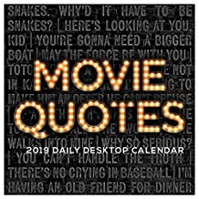 Movie Quotes 2019 Calendar