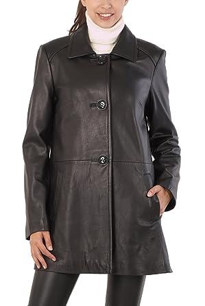 Bgsd Line Plus regular Lambskin Hannah Coat Leather A Women's rX8Uwxr