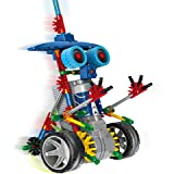 [ Motorial Alien Robot ] Robotic Building Set Block Toy ,Battery Motor Operated,3D Puzzle Design Alien Primate Robot Figure for kids and adults , Sturdy Enough , 120 parts(Elf Knights)