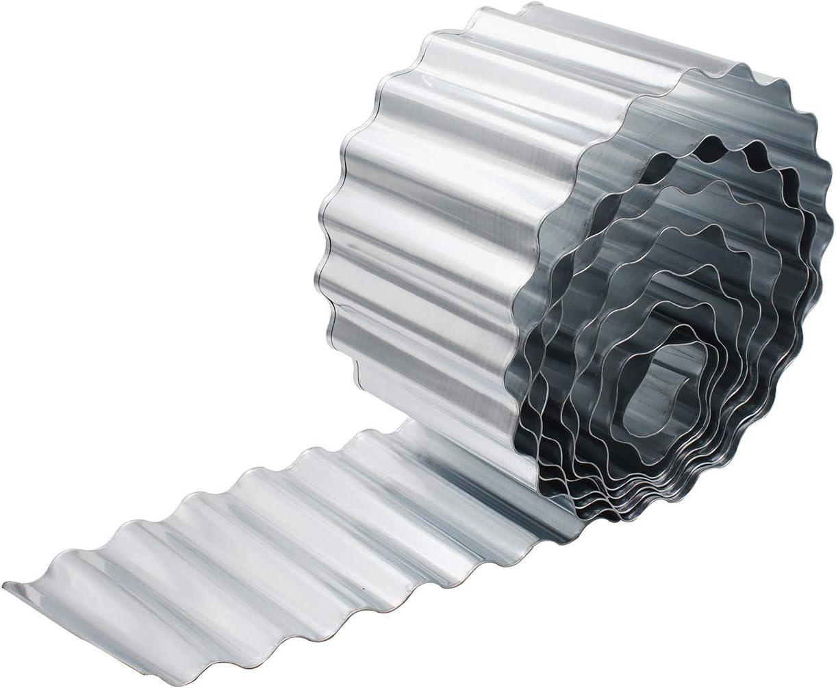 Metal Garden Plug welcome Bed Connector Gartendeko White Distressed Look