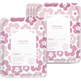 Nabia Rose Glow Face Sheet Mask with French and Damask Rose, Cica(5 Sheets)