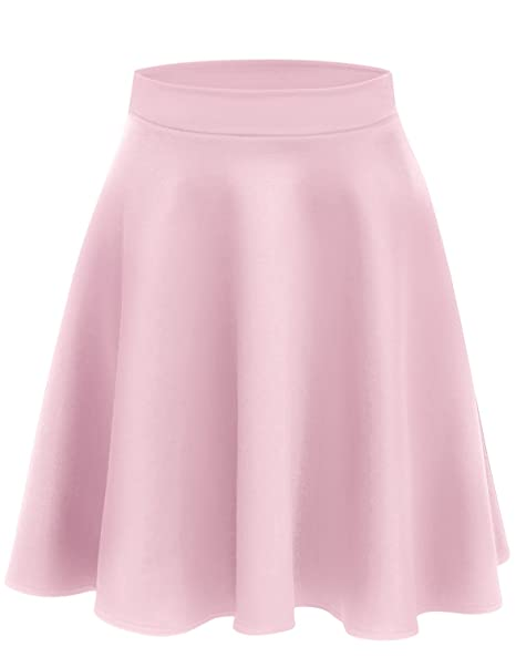 f6c0dfc6424b Baby Pink Skirts for Women Pink High Waisted Skirt Pink Skater Skirt Pink  Pleated Skirt Baby