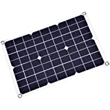 Eboxer 18V 20W Portable Solar Panel Ultra-thin Power Bank Flexible Backup Mobile Battery Charger USB Charging Port Sport, Travel, Camping, Hiking Other Outdoor Activities
