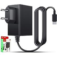 Strömförsörjning för Nintendo switch, laddare för Nintendo Switch laddkabel 1,5 m PD typ C resa laddare för Nintendo…