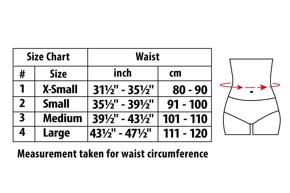 Ergonomic Umbilical Navel Hernia Belt (New Model)/Abdominal Support Brace (Large, Beige)