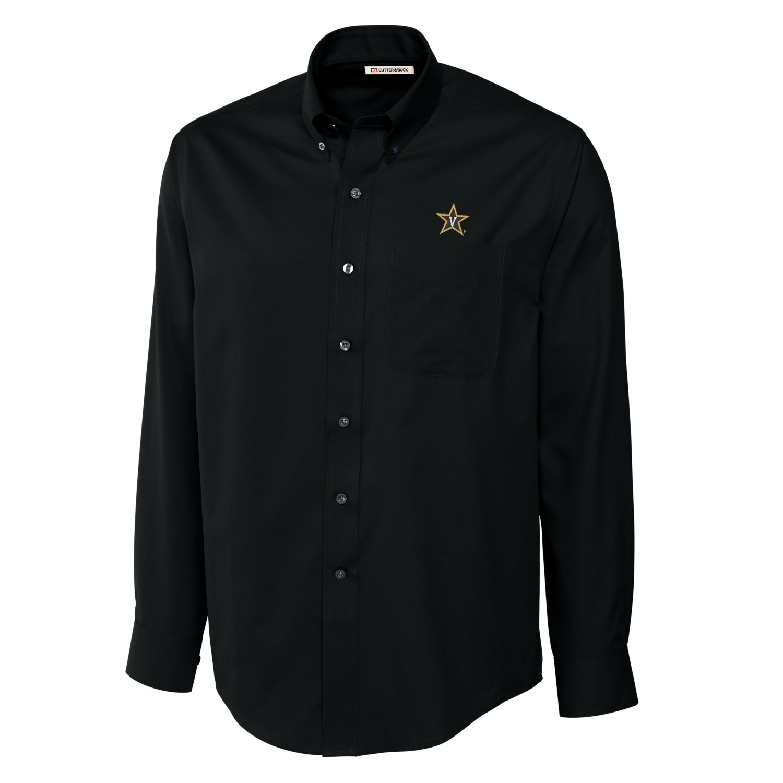 Cutter Buck NCAA Men's Long Sleeve Epic Easy Care Fine Twill Shirt