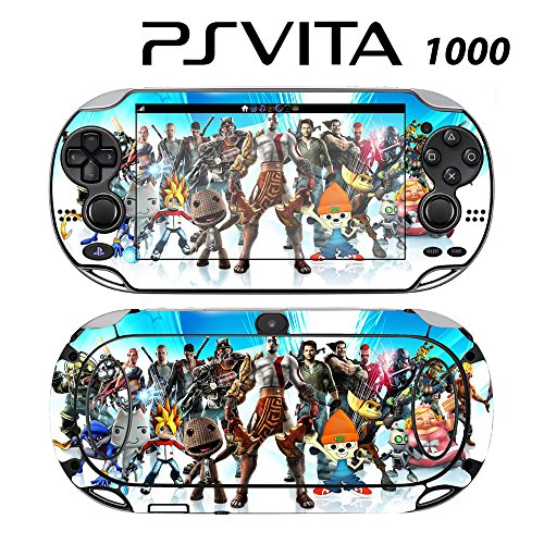 Decorative Video Game Skin Decal Cover Sticker for Sony PlayStation PS Vita (PCH-1000) - All-Stars Battle Royal -  Decals Plus