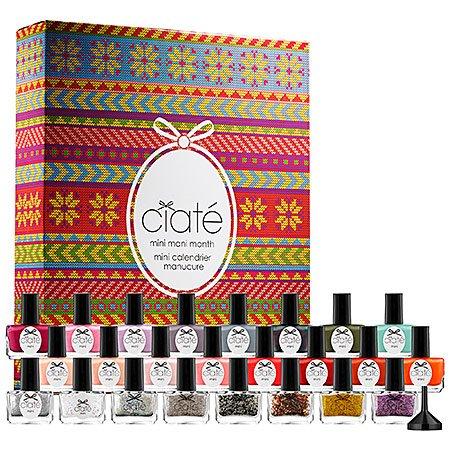nail polish calendar - 1