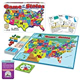 Game of The States, Can You Sell The Most From Coast To Coast? Game Board Game