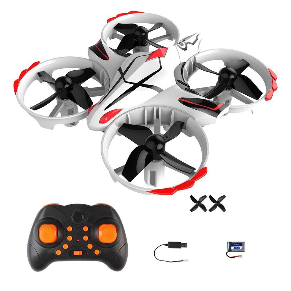 Globalqi Mini Drones pour Enfants Et Débutants, 2.4G Mode Double Petit Quatre Axes Drone Contrôle À Distance Infrarouge Interaction Induction Contrôle Décollage À Un Bouton Induction Lumineuse Avion