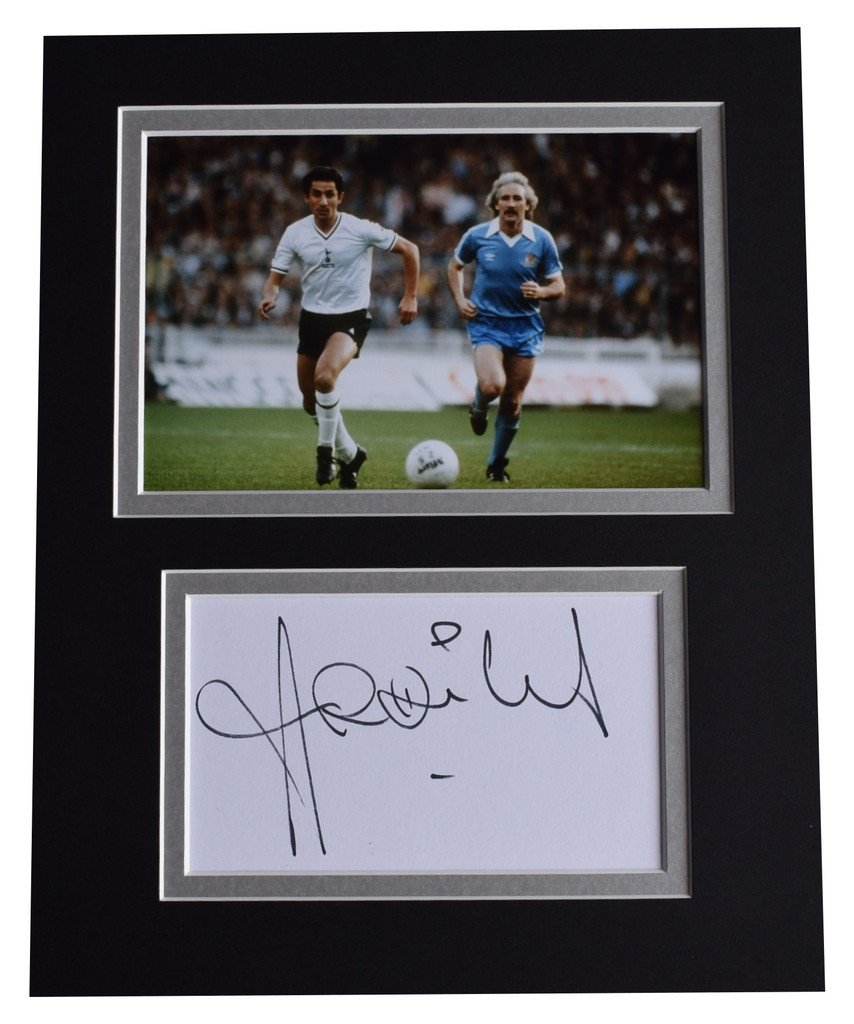 Sportagraphs Ossie Ardiles Signed Autograph 10x8 photo display Tottenham Hotspur Football COA PERFECT GIFT