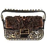 Fendi Baguette Stud Fur Bag