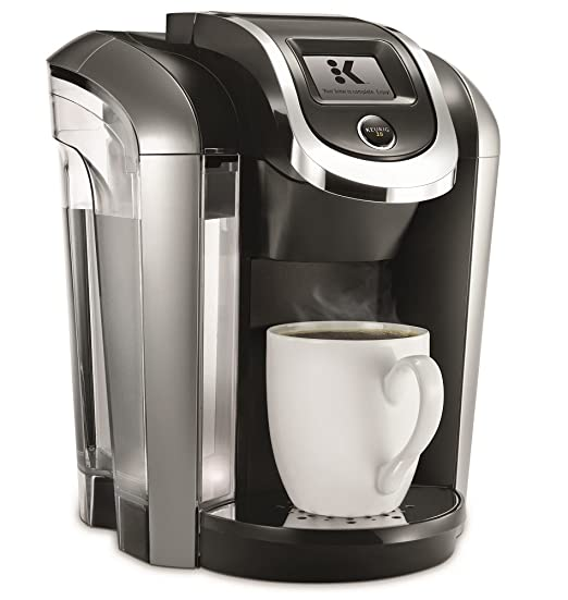 amazoncom keurig k475 single serve k cup pod coffee maker with 12 oz brew size and temperature control black kitchen u0026 dining - Kcup Coffee Makers