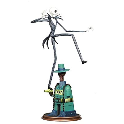 DIAMOND SELECT TOYS The Nightmare Before Christmas Gallery: Oogie's Lair Jack PVC Diorama Figure: Toys & Games