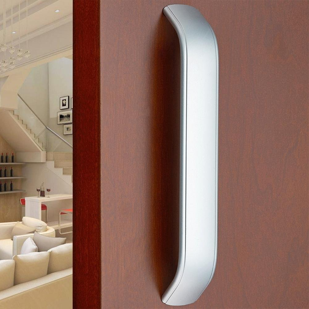 Daeou Space aluminum U-shaped drawer door handle wardrobe cabinets handle silver white furniture by Daeou (Image #5)