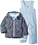 Kyпить Columbia Toddler Girls' Frosty Slope Set, Faded Sky Snow Splatter, 4T на Amazon.com