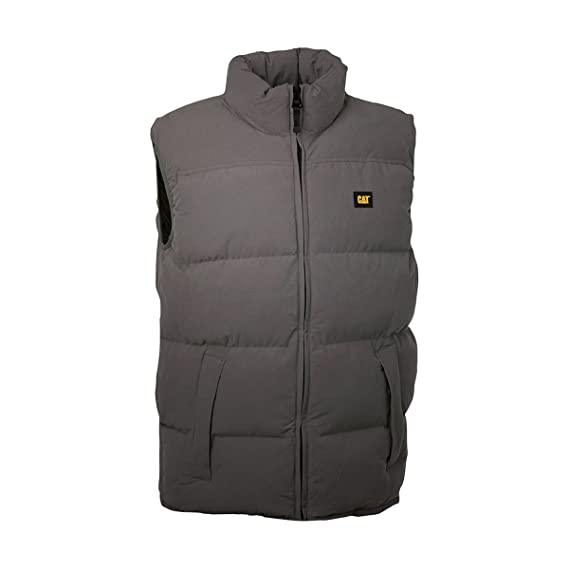 Caterpillar C430 Quilted Insulated Vest Black L