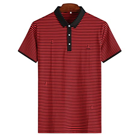 nihiug Camisa Polo para Hombre XL Camisetas clásicas Tamaño Grande ...