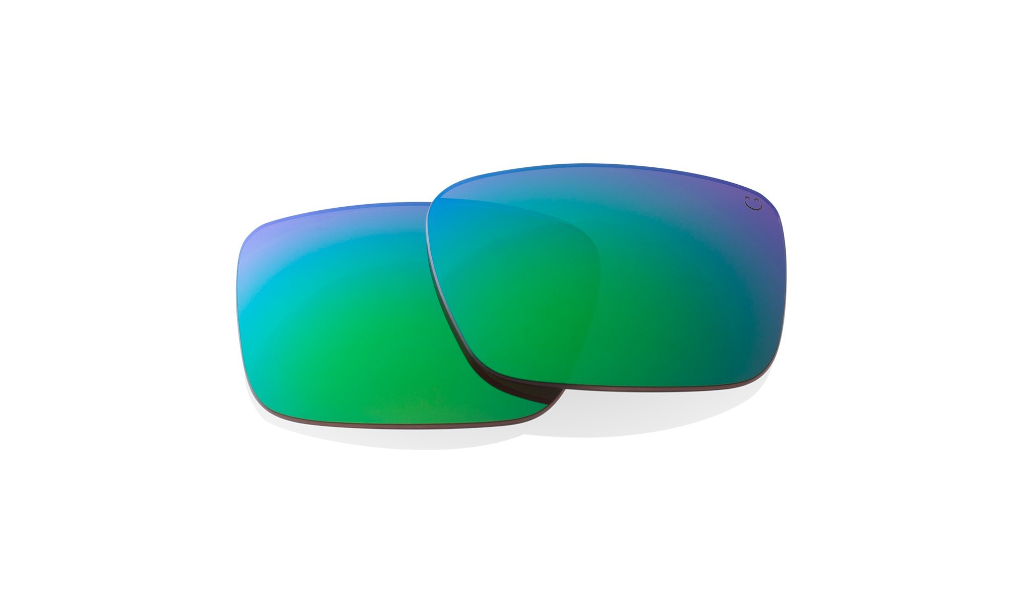 DISCORD REPLACEMENT LENSES - HAPPY BRONZE POLAR W/GREEN SPECTRA by Spy