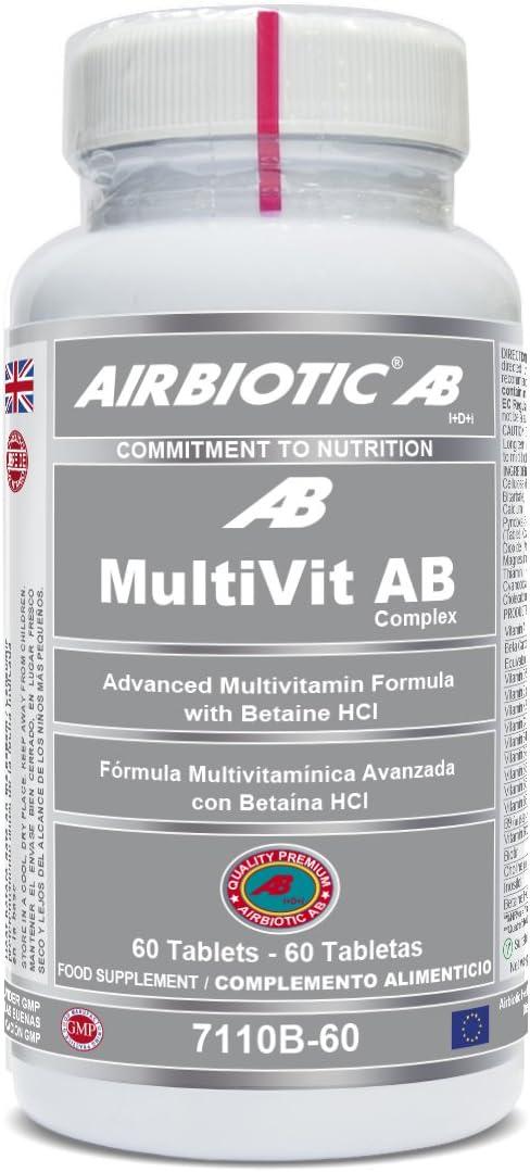 Multivit AB Complex 60 tabletas (Pack 2 u.): Amazon.es: Salud y cuidado personal