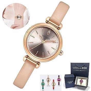 Reloj De Mujer, Caja De Oro Rosa, Caja De Regalo De Embalaje Profesional,