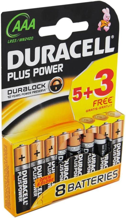 Duracell Mn2400 Plus Power Aaa Batterie 32 Stück Elektronik