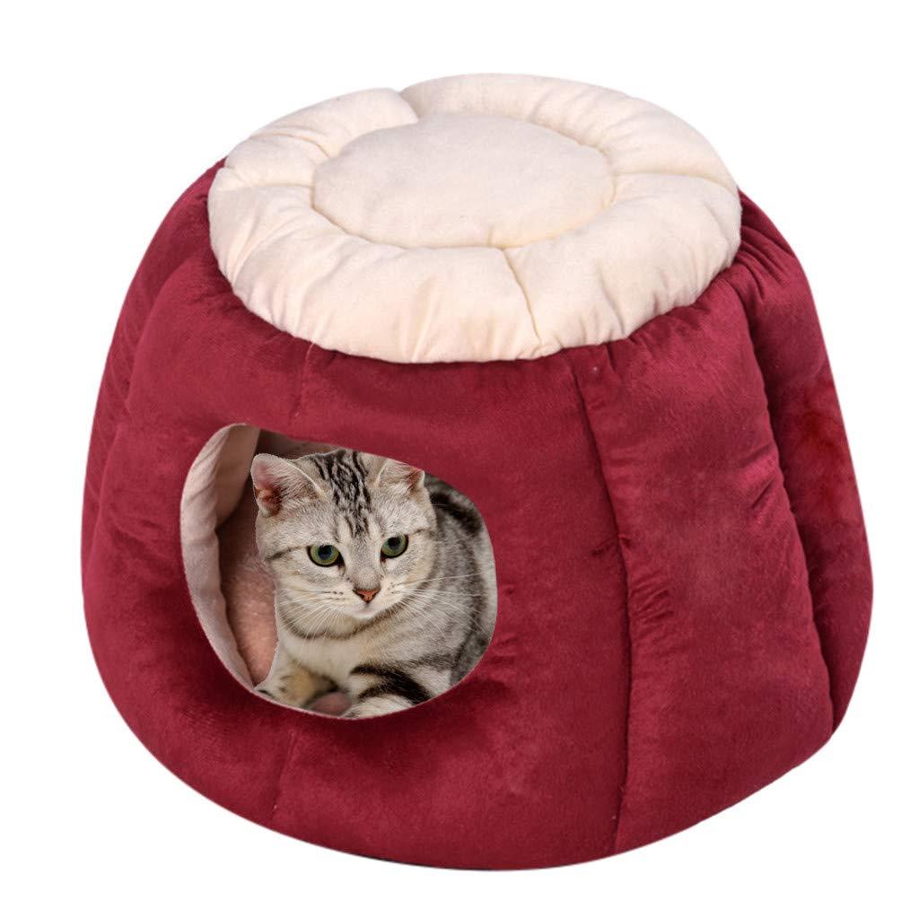 Pleasant Amazon Com Cat Sleeping Bag Inkach Pet Tent Bed For Small Customarchery Wood Chair Design Ideas Customarcherynet