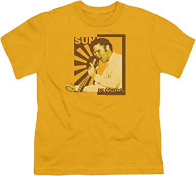 Elvis Mic In Hand Youth T-shirt
