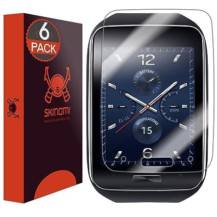 Skinomi SK18560 - Protector de Pantalla (Samsung, Gear S, 6 Pieza(s))