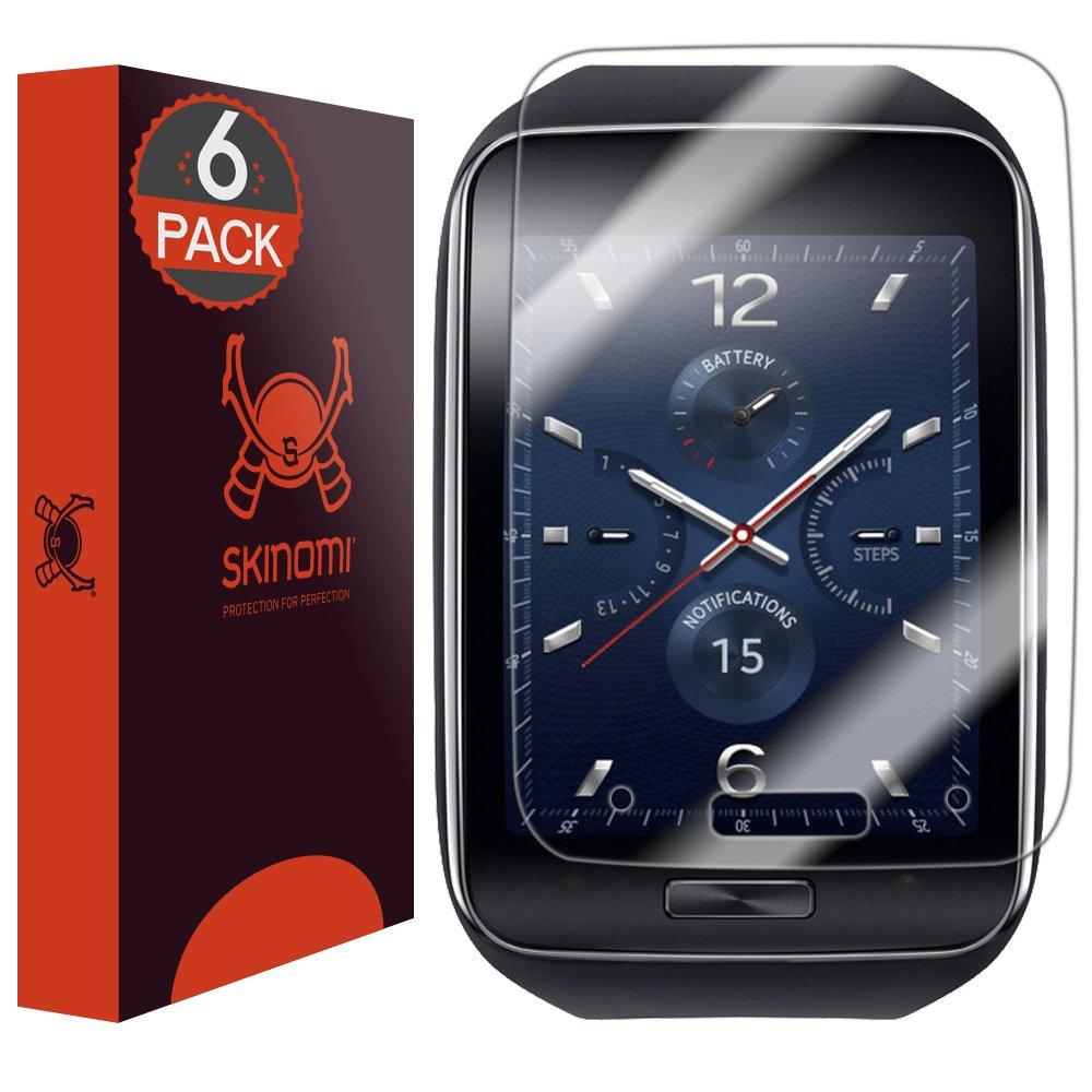 Skinomi TechSkin - Samsung Gear S Screen Protector (6 Pieces)