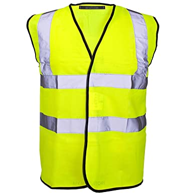Image result for MyShoeStore Hi Vis Vest Yellow & Orange Small to 6XL 2 Band & Brace