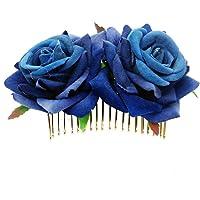 DDazzling Women's 2 xRose Hair Flower Clips Fascinator Flowers Hair Claw Accessories